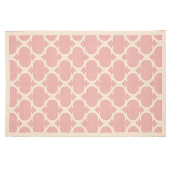 5 rugs to make you think pink homerandruth. Black Bedroom Furniture Sets. Home Design Ideas
