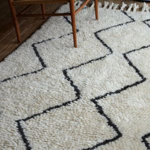 West Elm Rug via homerandruth.com