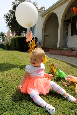 Keira's 1st Birthday via HOMErandRuth.com