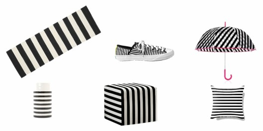Black & White Stripes || homerandruth.com
