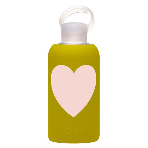 BKR Kvetch Heart Water Bottle.WOM_homerandruth.com