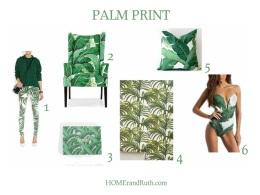 Trend Alert: Palm Print via HOMErandRuth.com