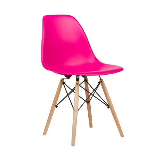 2k4aRST1FH_Mid-Century_Slope_Chair_in_Fuchsia0