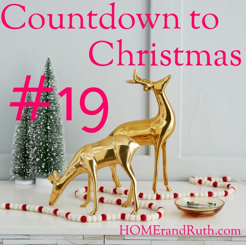 25 Days of Christmas Countdown #19 on HOMErandRuth.com