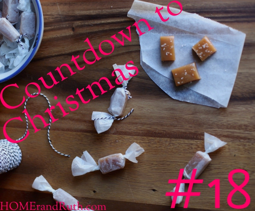 25 Days of Christmas Countdown #18 on HOMErandRuth.com
