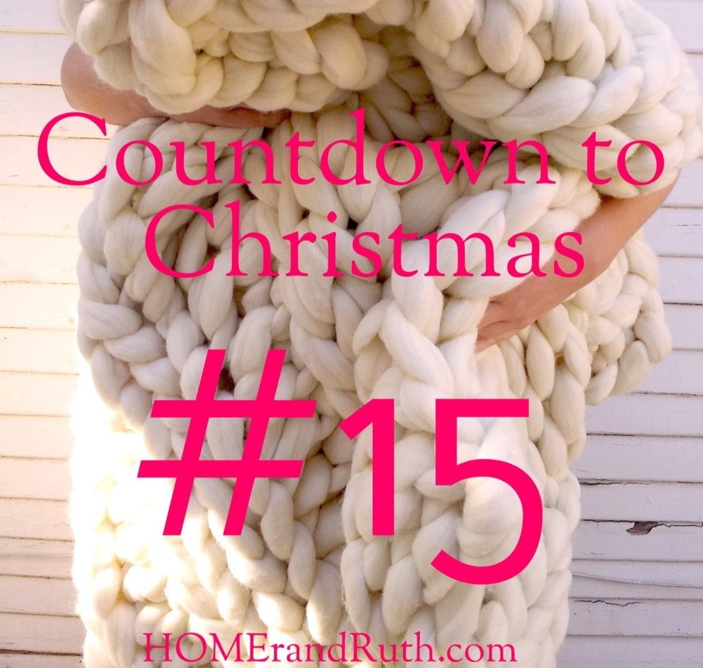 25 Days of Christmas Countdown #15 on HOMErandRuth.com