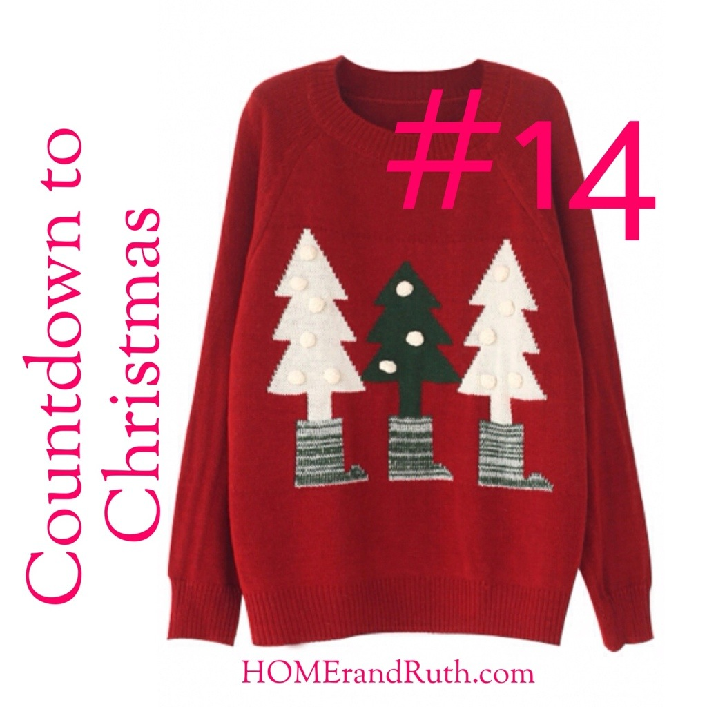 25 Days of Christmas Countdown #14 on HOMErandRuth.com