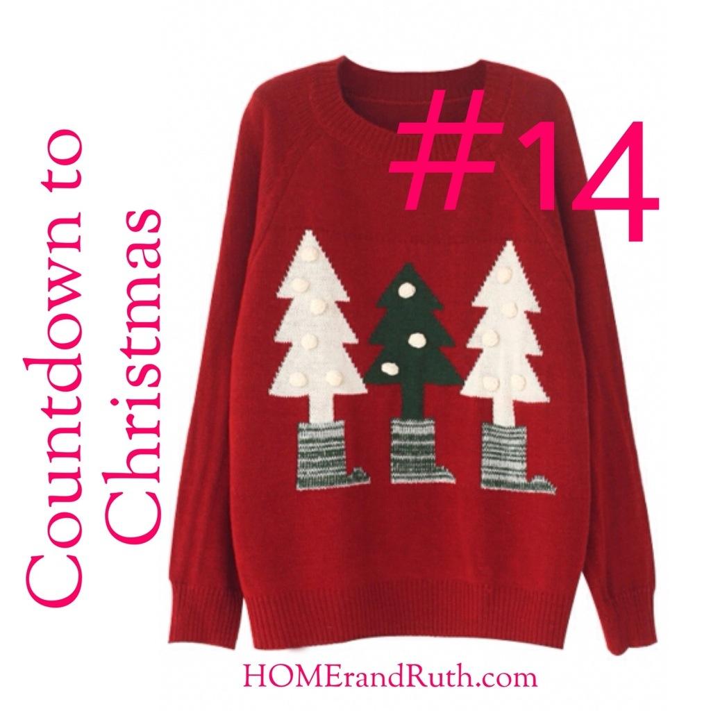 25 Days of Christmas Countdown #14 on HOMErandRuth.com