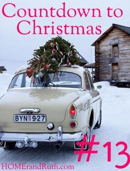 25 Days of Christmas Countdown via HOMErandRuth.com