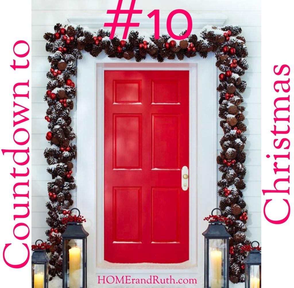 25 Days of Christmas Countdown #10 on HOMErandRuth.com