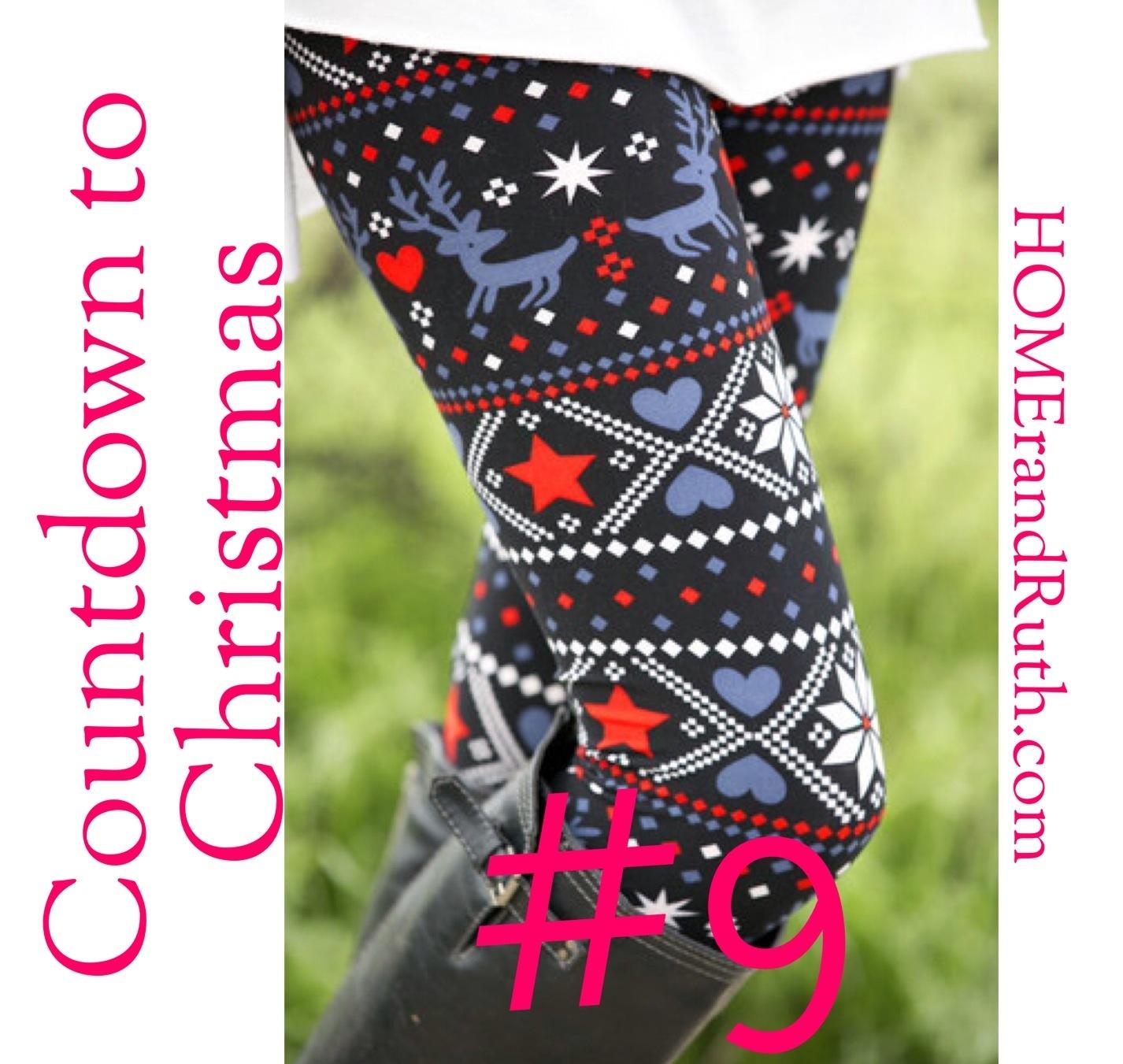 25 Days of Christmas Countdown #9 on HOMErandRuth.com