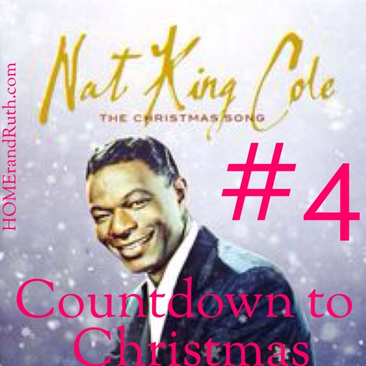 #4 Nat King Cole's 'The Christmas Song'